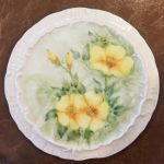 Frannie's beautifully hand painted dish